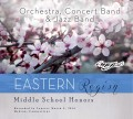 CMEA Connecticut Eastern Region Middle School Orchestra, Concert Band & Jazz Band 3-5-2016 CD & DVD