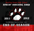Bowling Green High School Bobcat Marching Band End of Season Oct. 2011