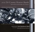 2012 Tri-County Honors Bands