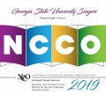 NCCO 2019- National Collegiate Choral Organization : Georgia State University Singers DVD