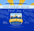2015 ACDA National Conference Central Washington University Vocal Jazz 1