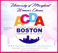 ACDA Eastern Division Conference 2016 University of Maryland Women's Chorus