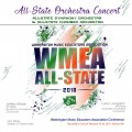 Washington WMEA 2018 Conference Feb. 16-18, 2018 High School All-State Orchestra CD/DVD