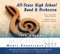 Michigan Music Conference 2017 All-State High School Band and Orchestra CD-DVD 1-21-2017