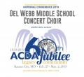 ACDA 2019 National - Del Web Middle School CD/DVD