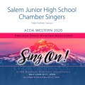 ACDA Western 2020 Salem Junior High Chamber Singers CD