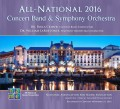 NAfME All-National 2016 Concert Band & Symphony Orchestra