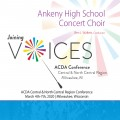 ACDA Central-North Central 2020 Ankeny High School Concert Choir CD/DVDs