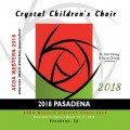 ACDA Western Division 2018 Crystal Children's Choir March 14-17, 2018 CD