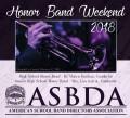 ASBDA - American School Band Directors Association Honor Band Concert 2/17/2018 CD
